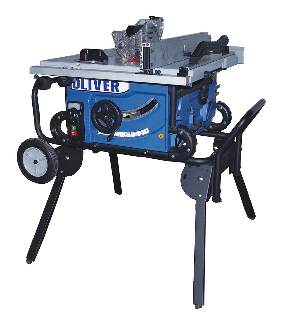 """10"""" Jobsite Table Saw w/Roller Stand - 10010"""
