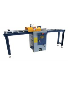 3' Infeed and 3' Outfeed Roller Table Set for 5015 Only