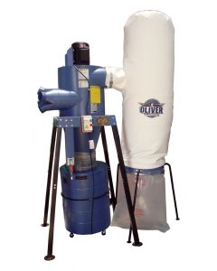 Two-Stage Cyclone Filter Bag Dust Collector with Remote Control - 7160